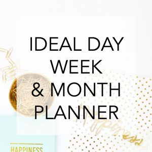 Ideal Day Planner