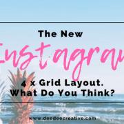 Instagram Four Grid Layout