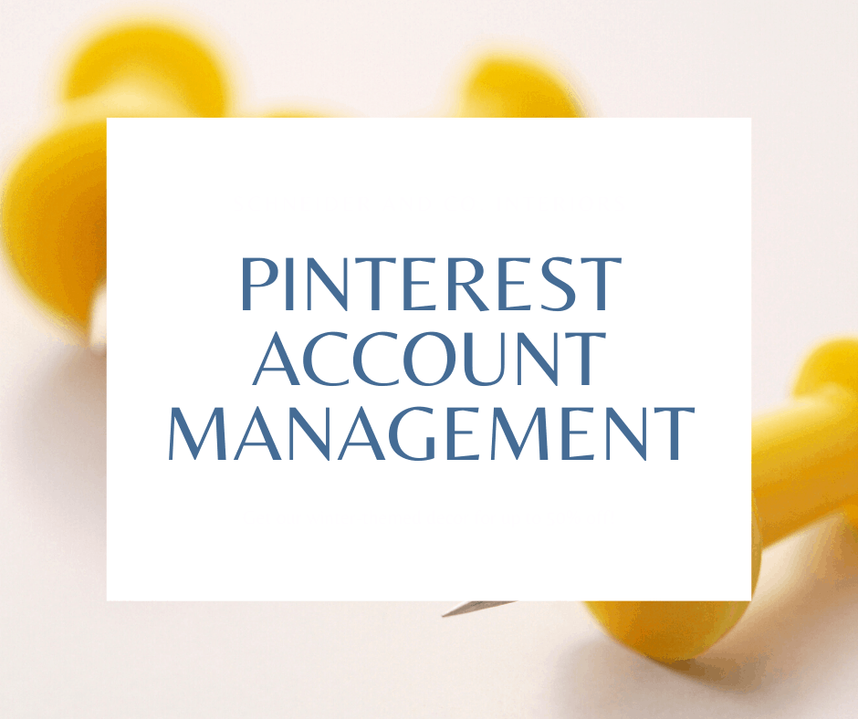 Pinterest Account Management